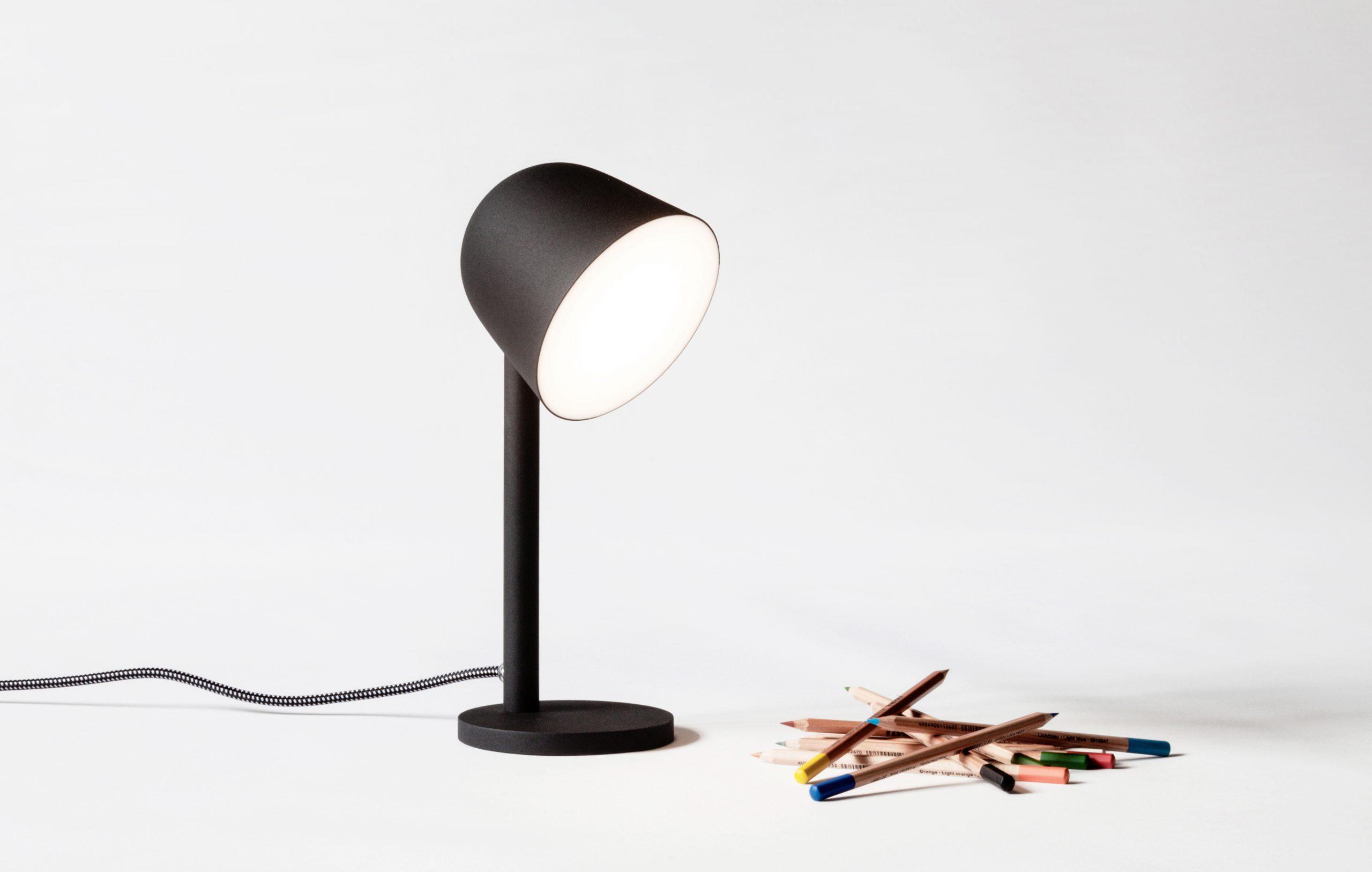 Black Campanule lamp by Debiasi sandri for Ligne Roset