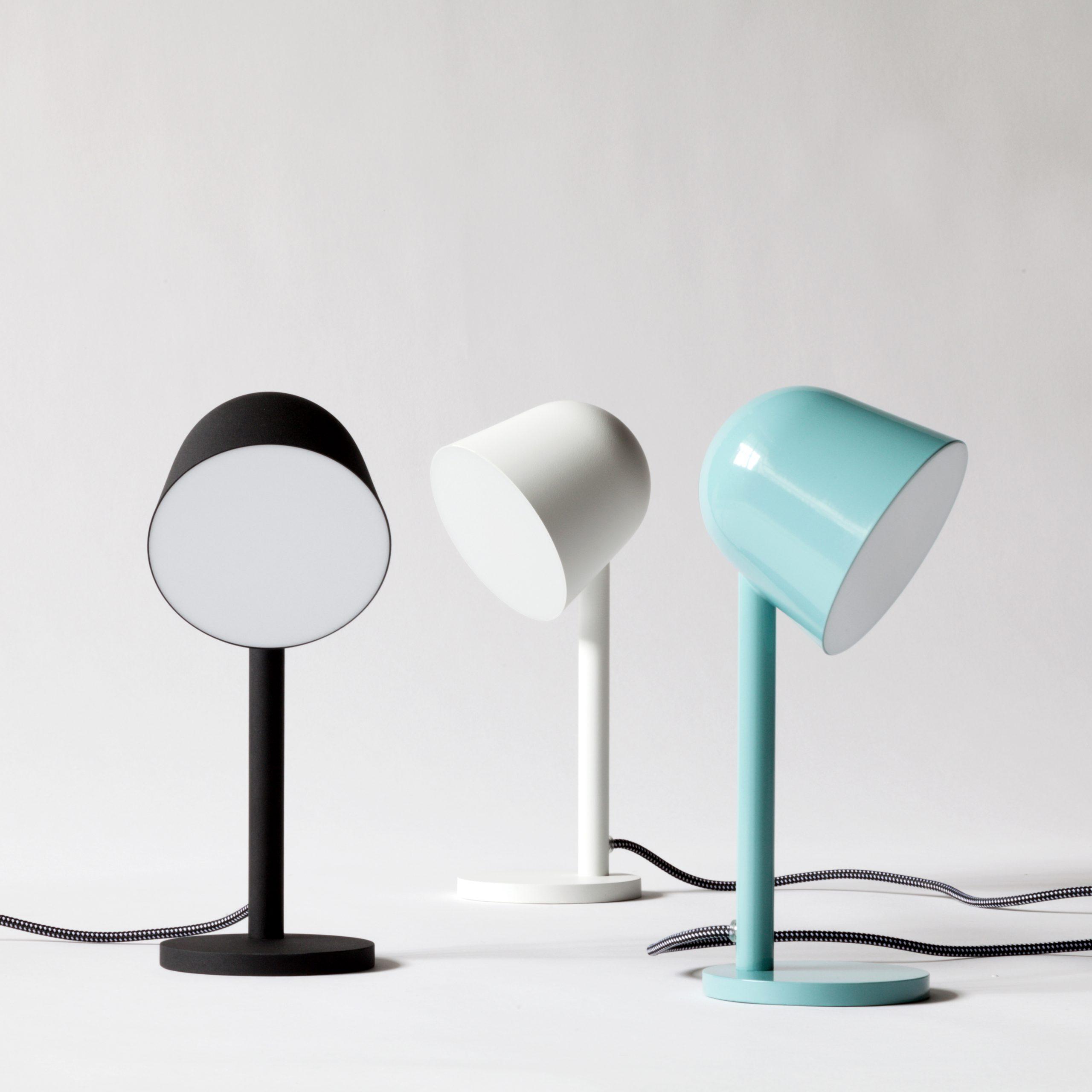 Black, blue and white Campanule lamp by Debiasi sandri for Ligne Roset
