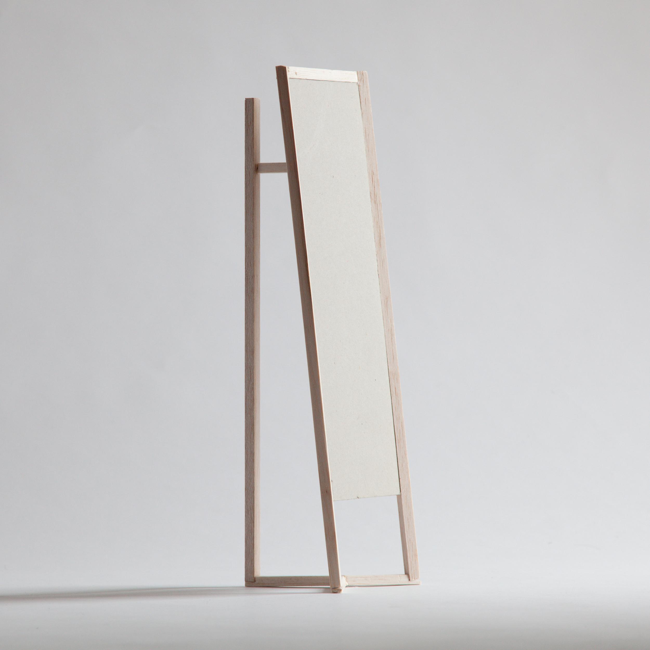 Scale Model of Club mirror by Debiasi Sandri for Schoenbuch