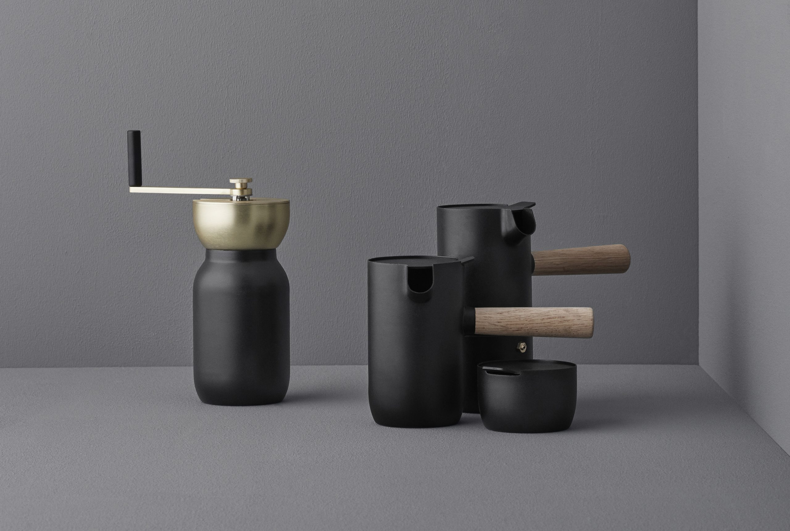 Collar coffee set by Debiasi Sandri for Stelton