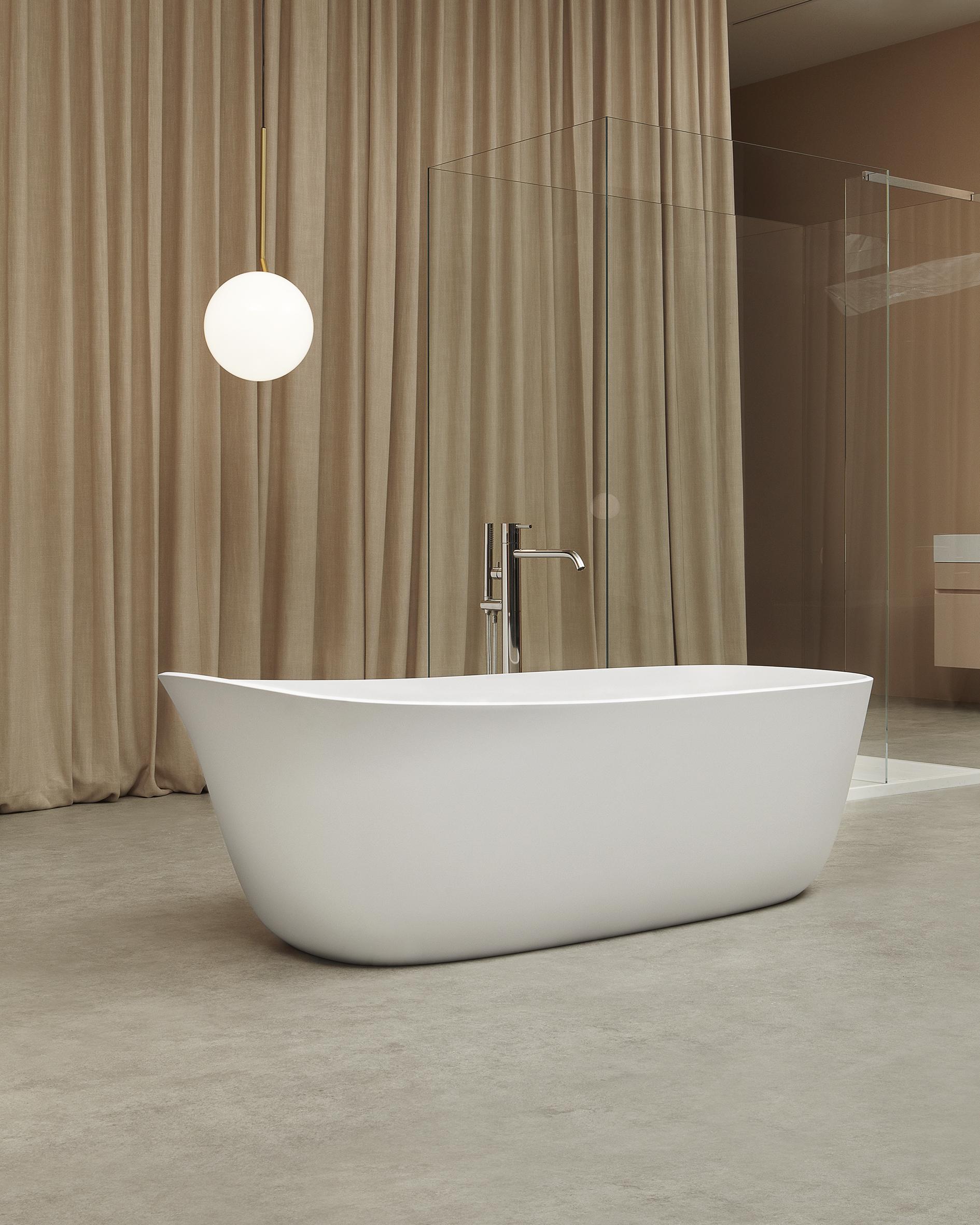 Dafne bathtub by Debiasi Sandri for Antoniolupi