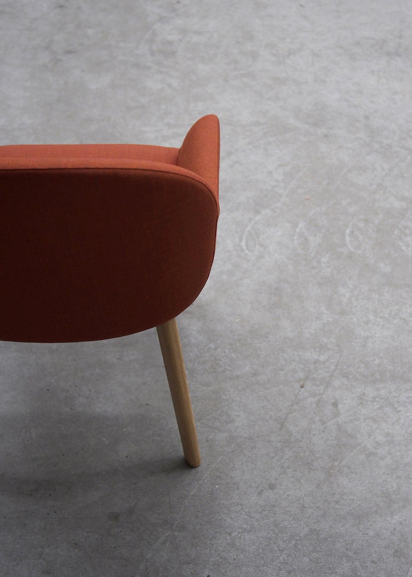 Elba chair prototype in the warehouse