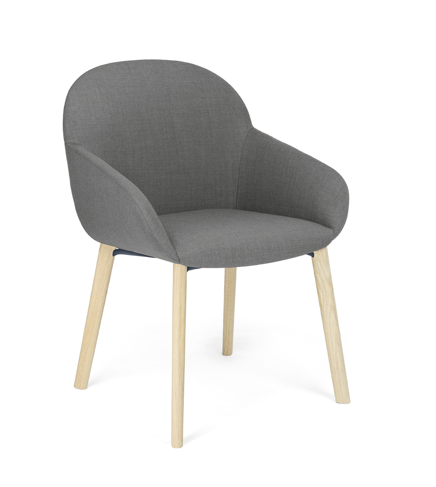 Elba chair designed by Debiasi Sandri for Crassevig with wooden legs
