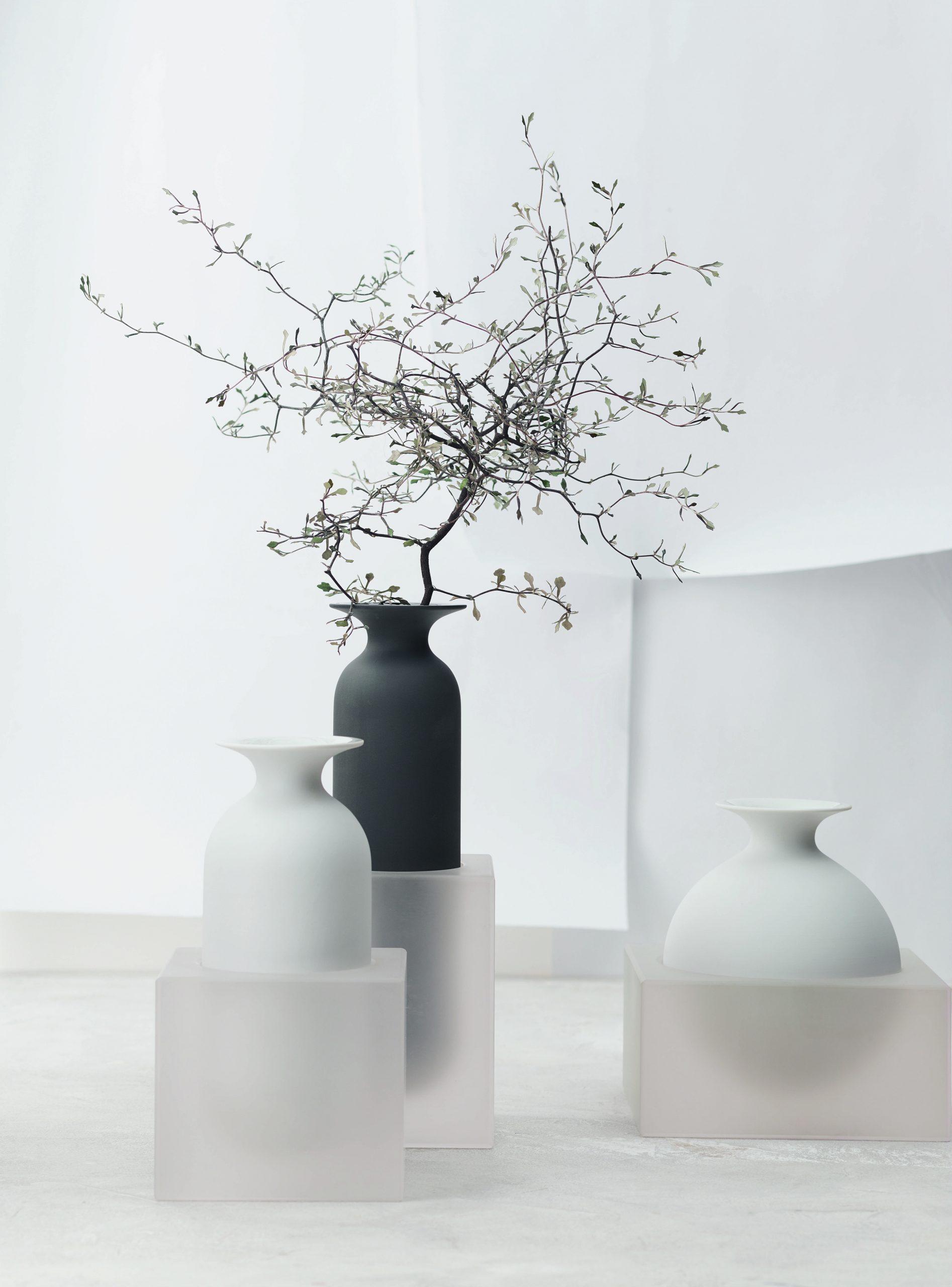 Freddo vases for Rosenthal, designed by Debiasi Sandri