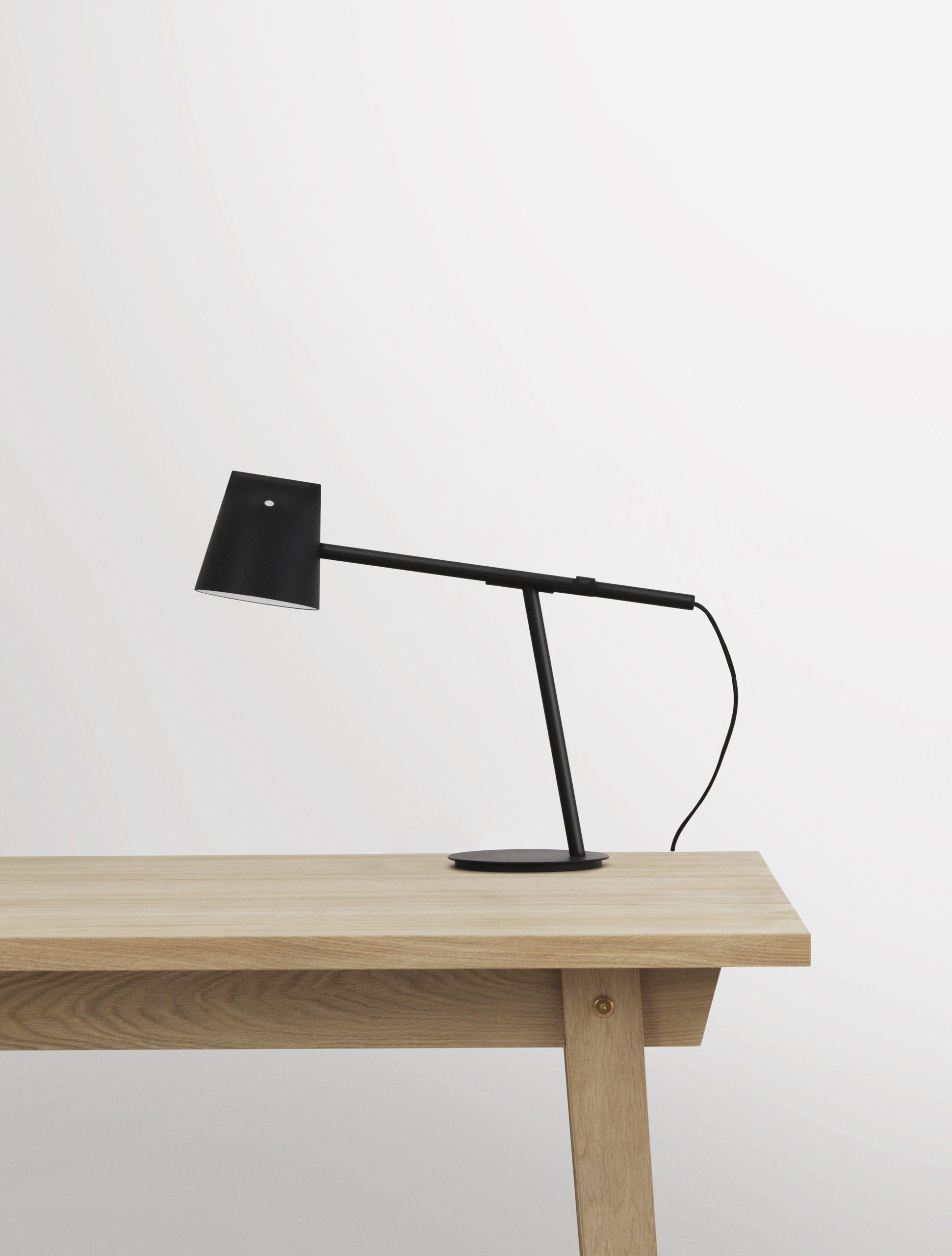 Black Momento lamp by Debiasi Sandri