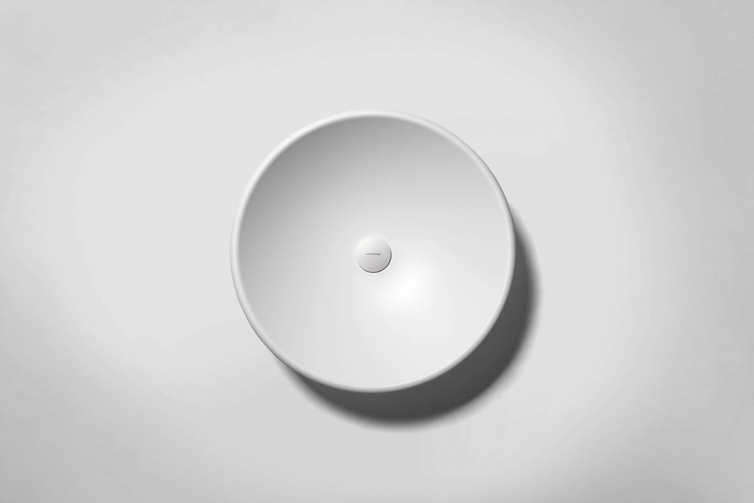 Round Rim washbowl by Debiasi Sandri for Antoniolupi