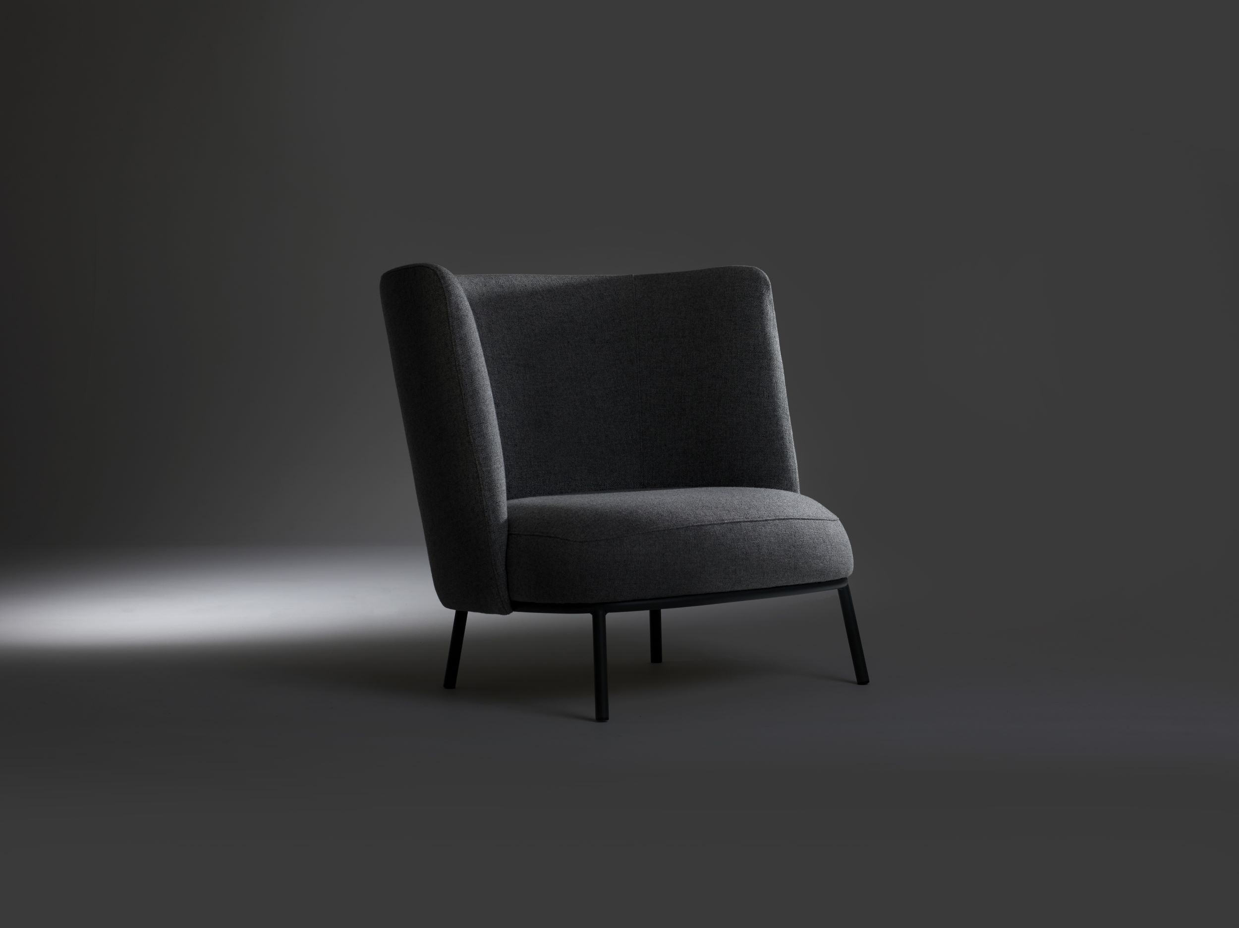 Shift easychair high and ottoman by Debiasi Sandri for Offecct