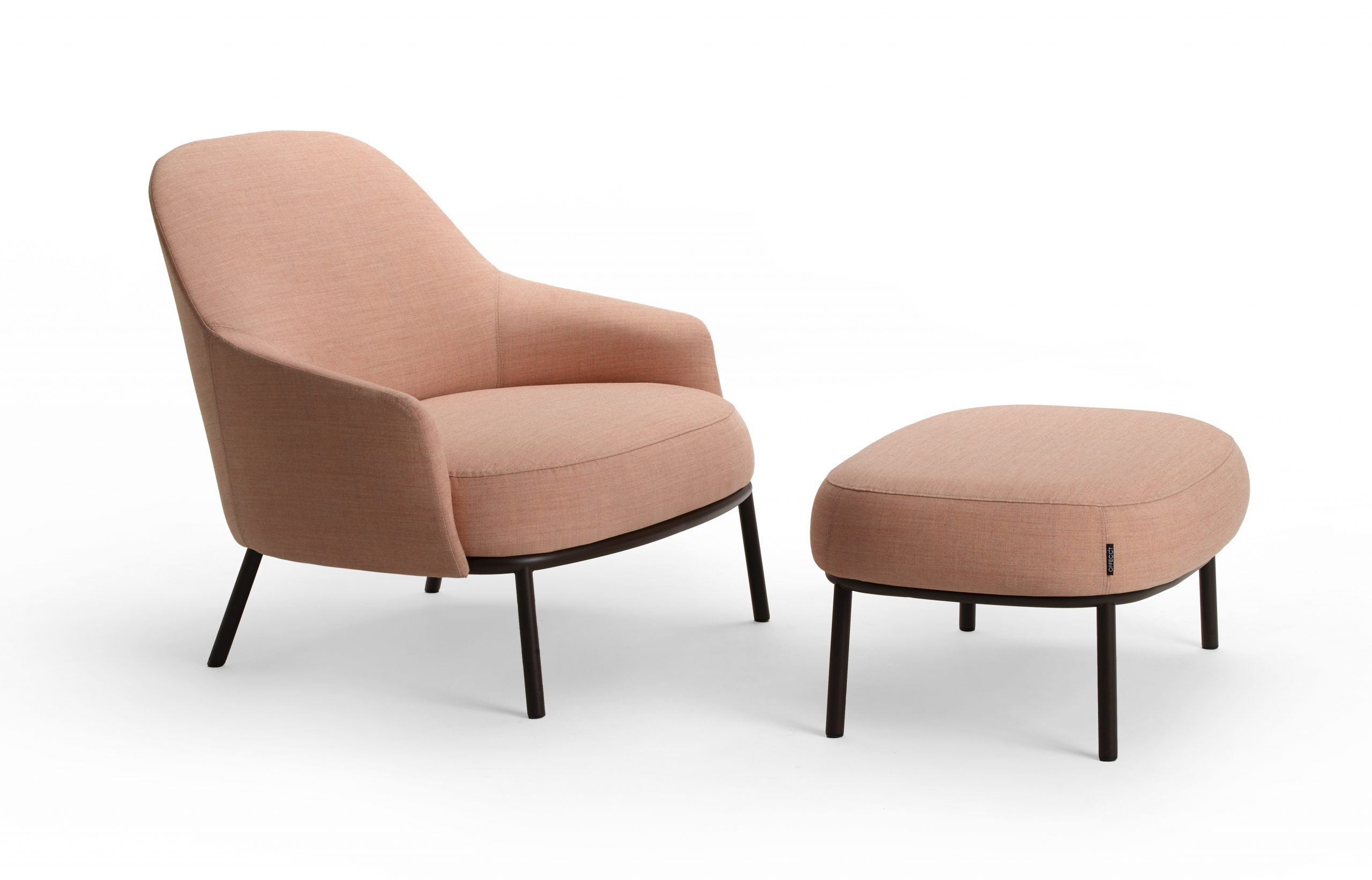 Shift easychair classic and ottoman by Debiasi Sandri for Offecct