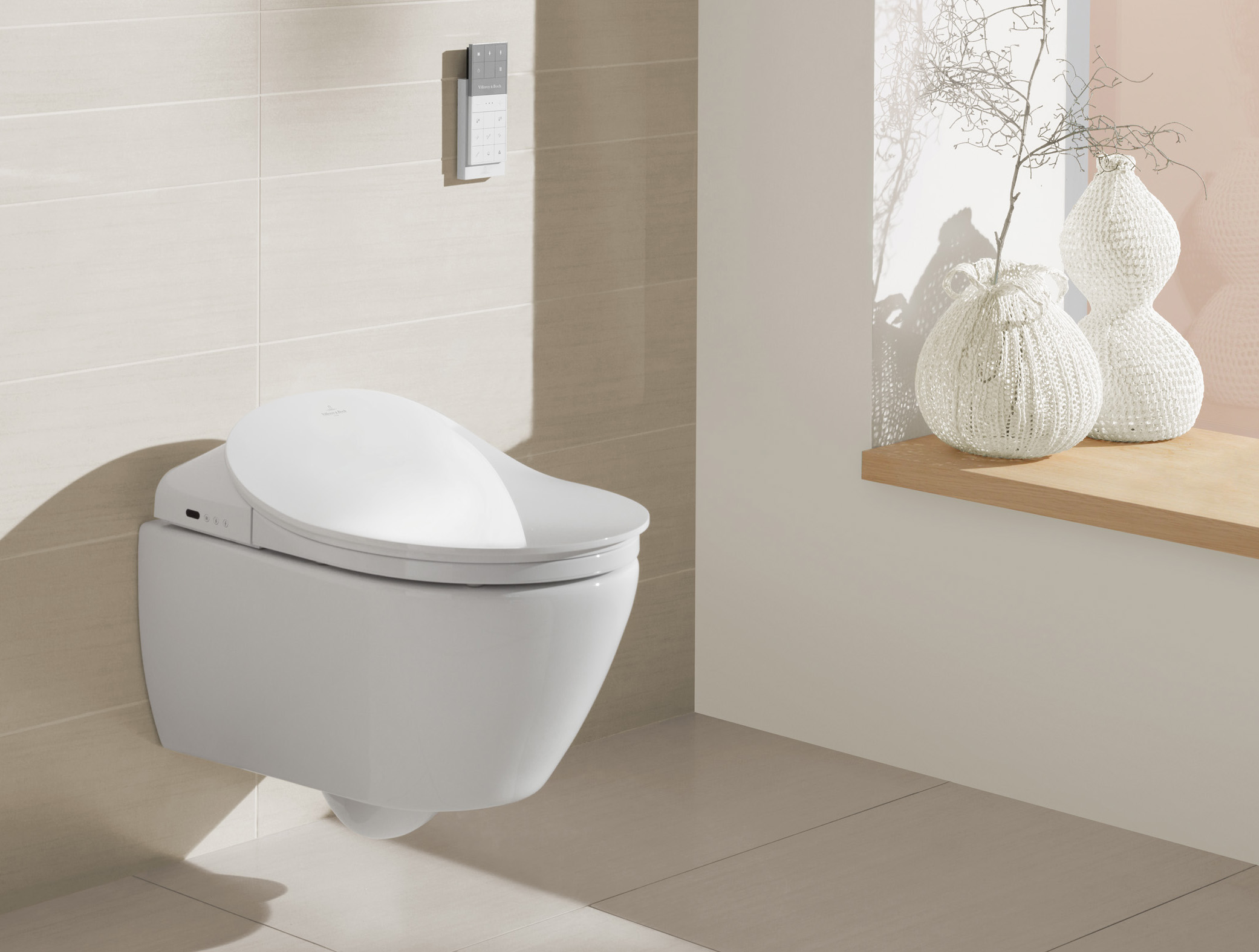ViClean electronic Bidet by Debiasi sandri for Villeroy and Boch