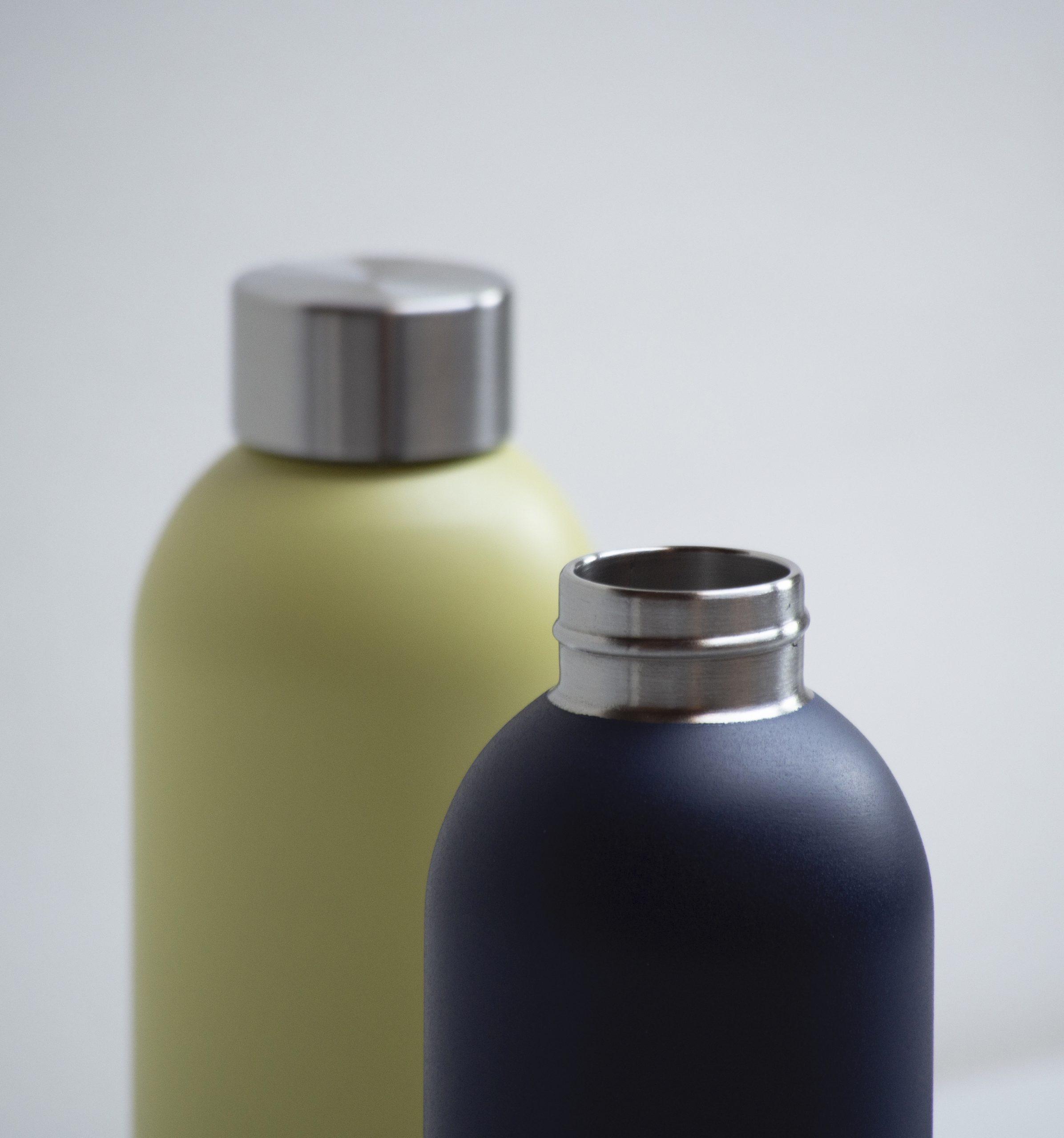 Detail of Keep Cool reusable bottle by Debiasi Sandri for Stelton