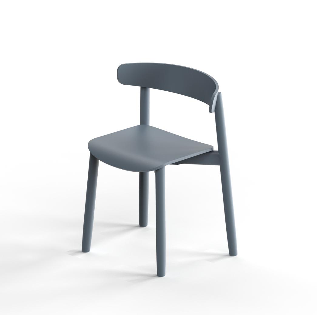 Bison chair by Debiasi Sandri for Tekhne
