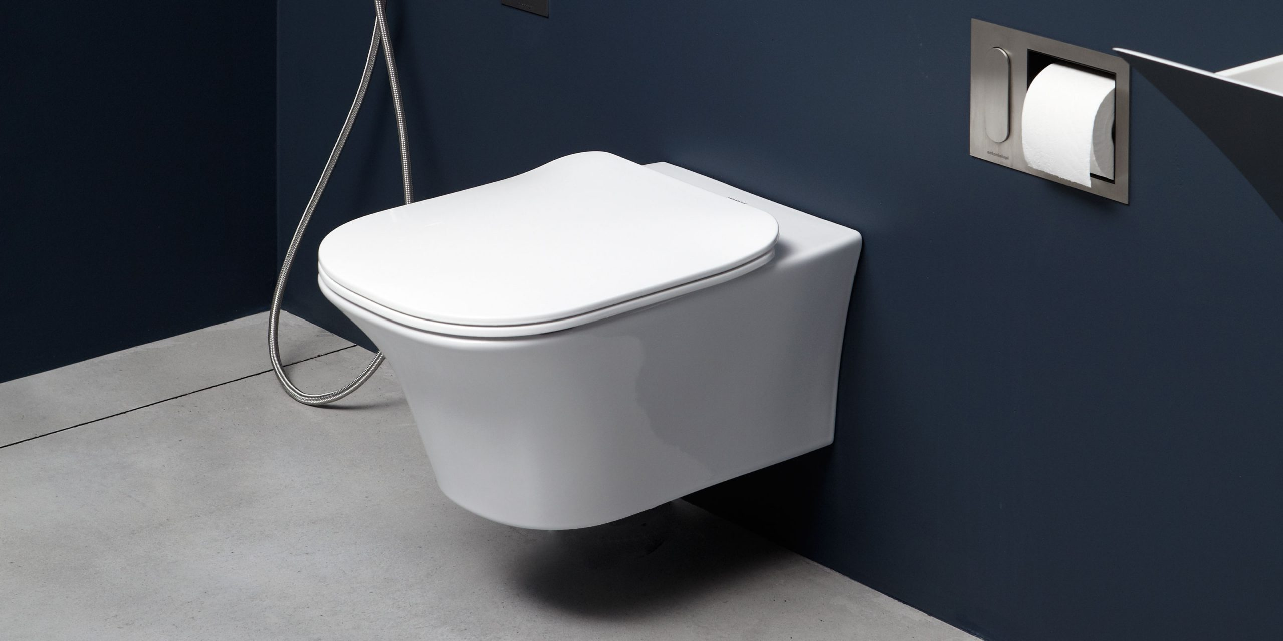Cabo sanitaryware by Debiasi Sandri for Antoniolupi, wc and bidet