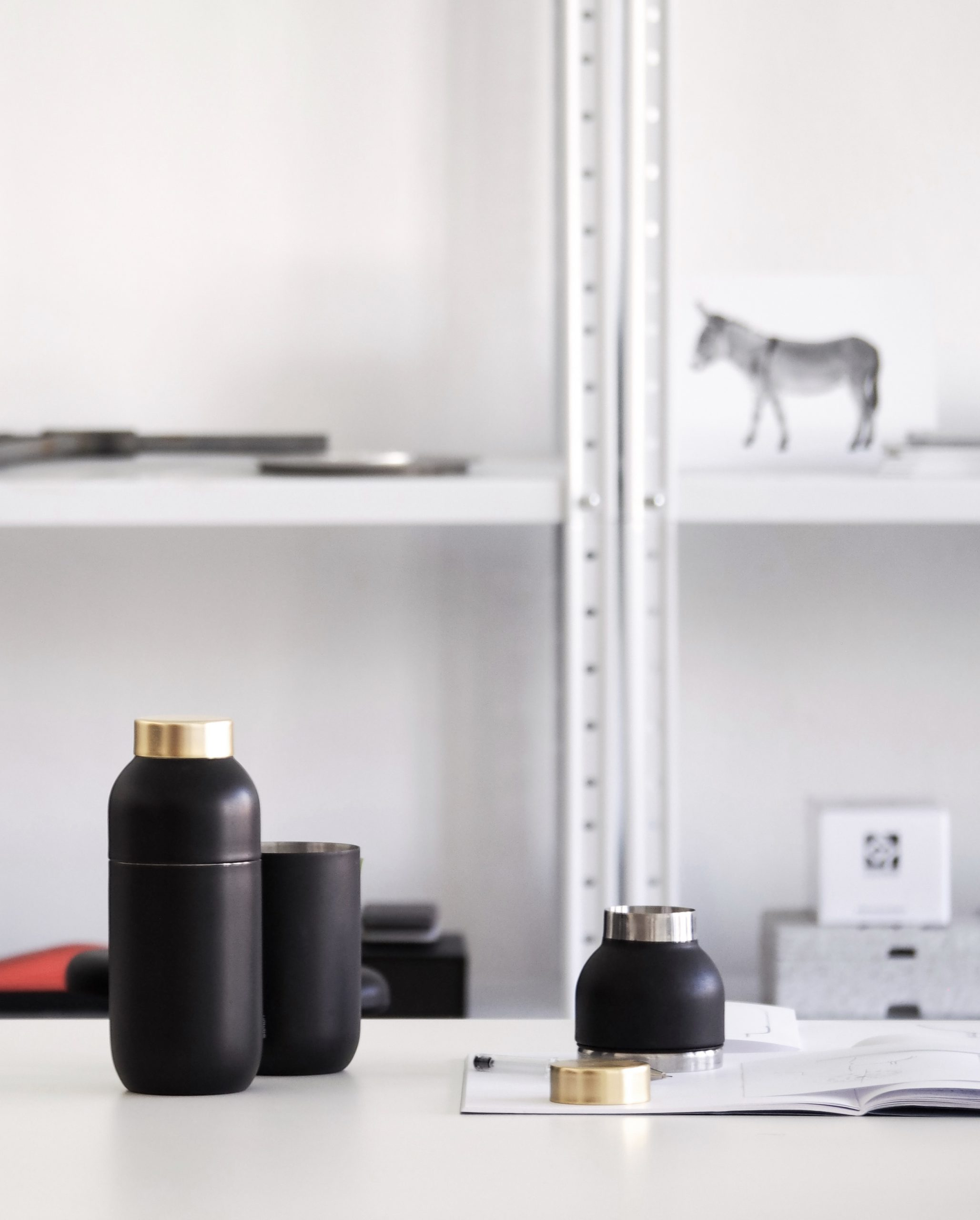 Studio shot of the Collar bar set by Debiasi Sandri for Stelton