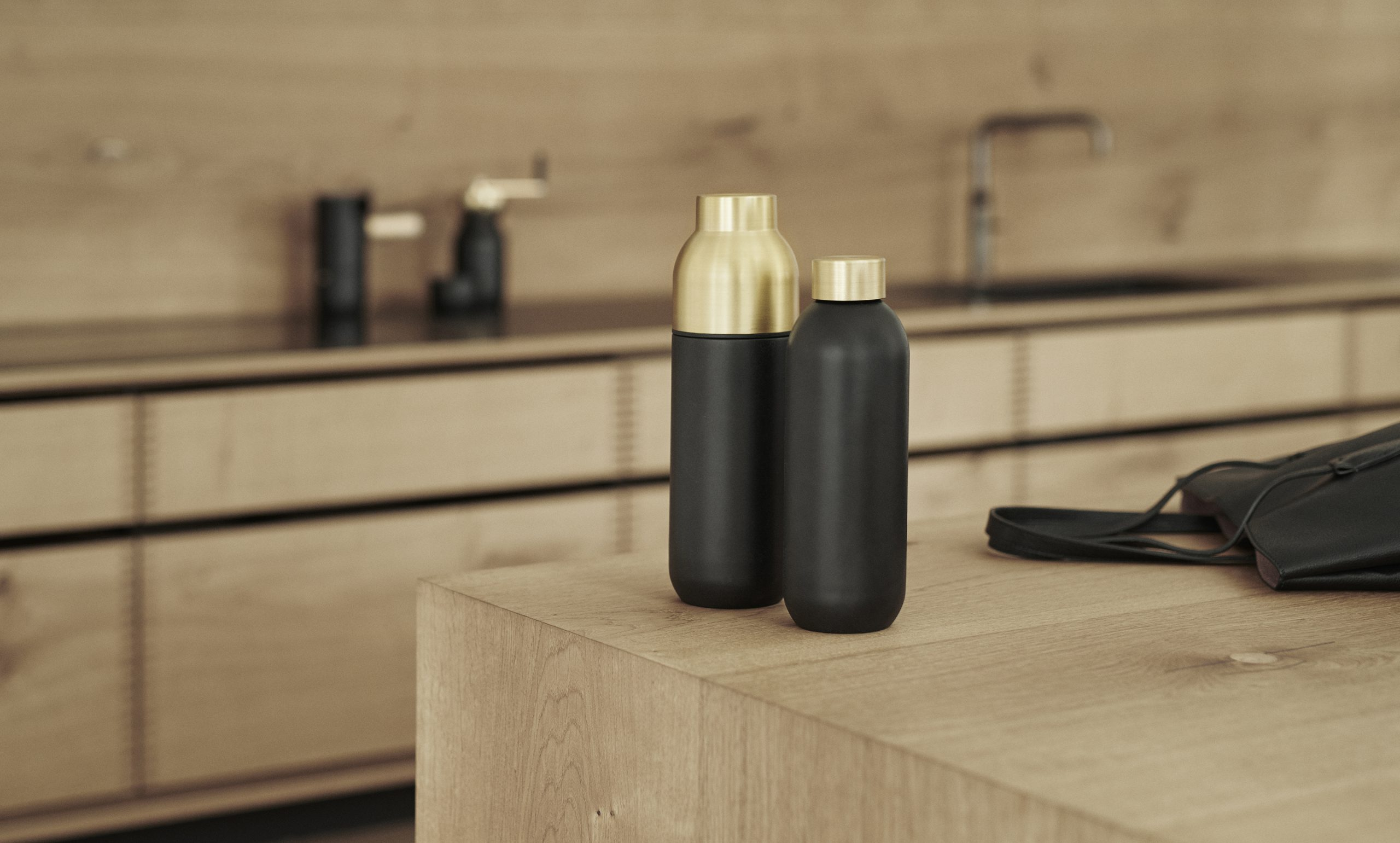 Collar thermo and water bottle by Debiasi Sandri for Stelton