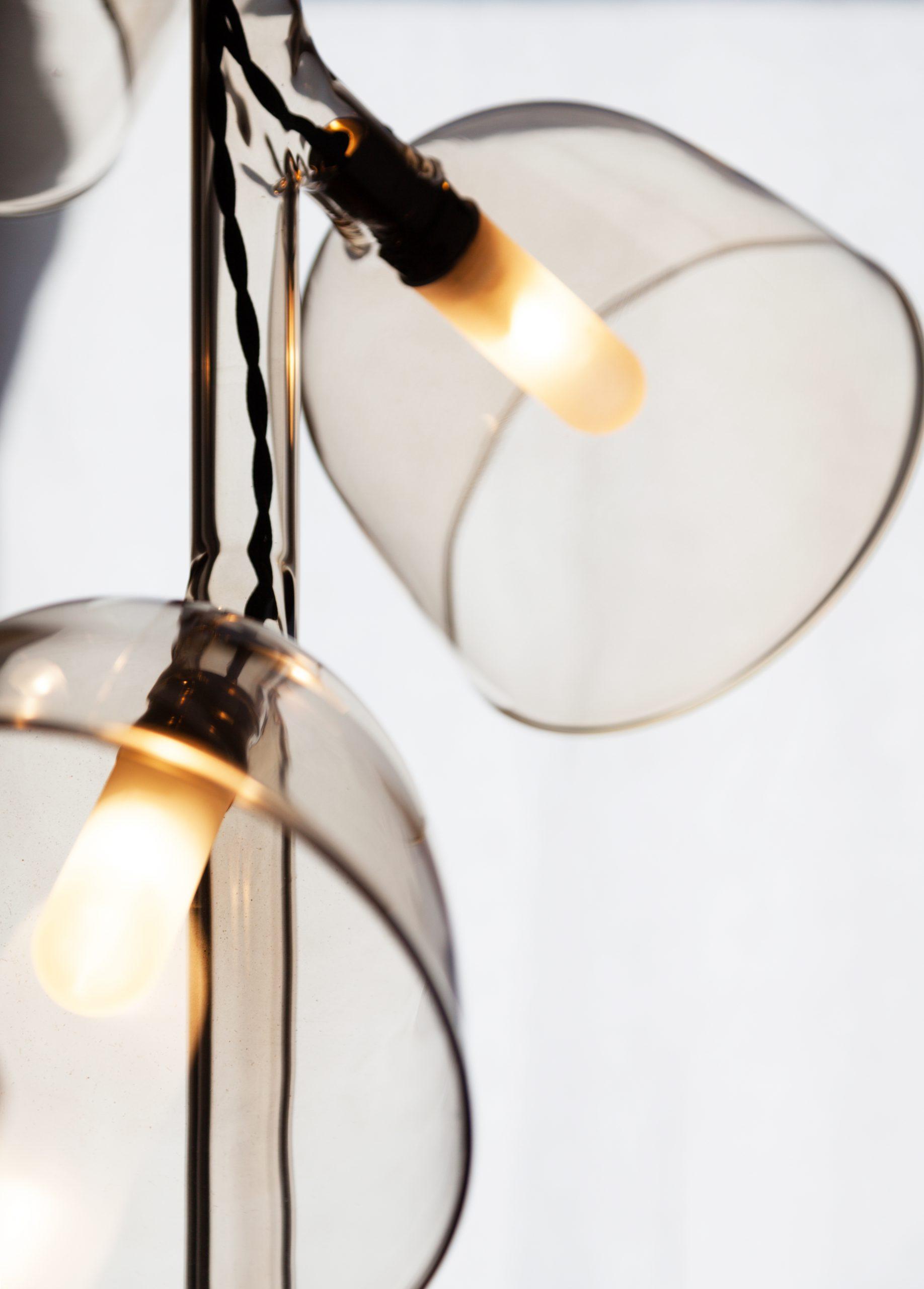 Detail of the Labo pendant lamp bu Debiasi Sandri for Penta