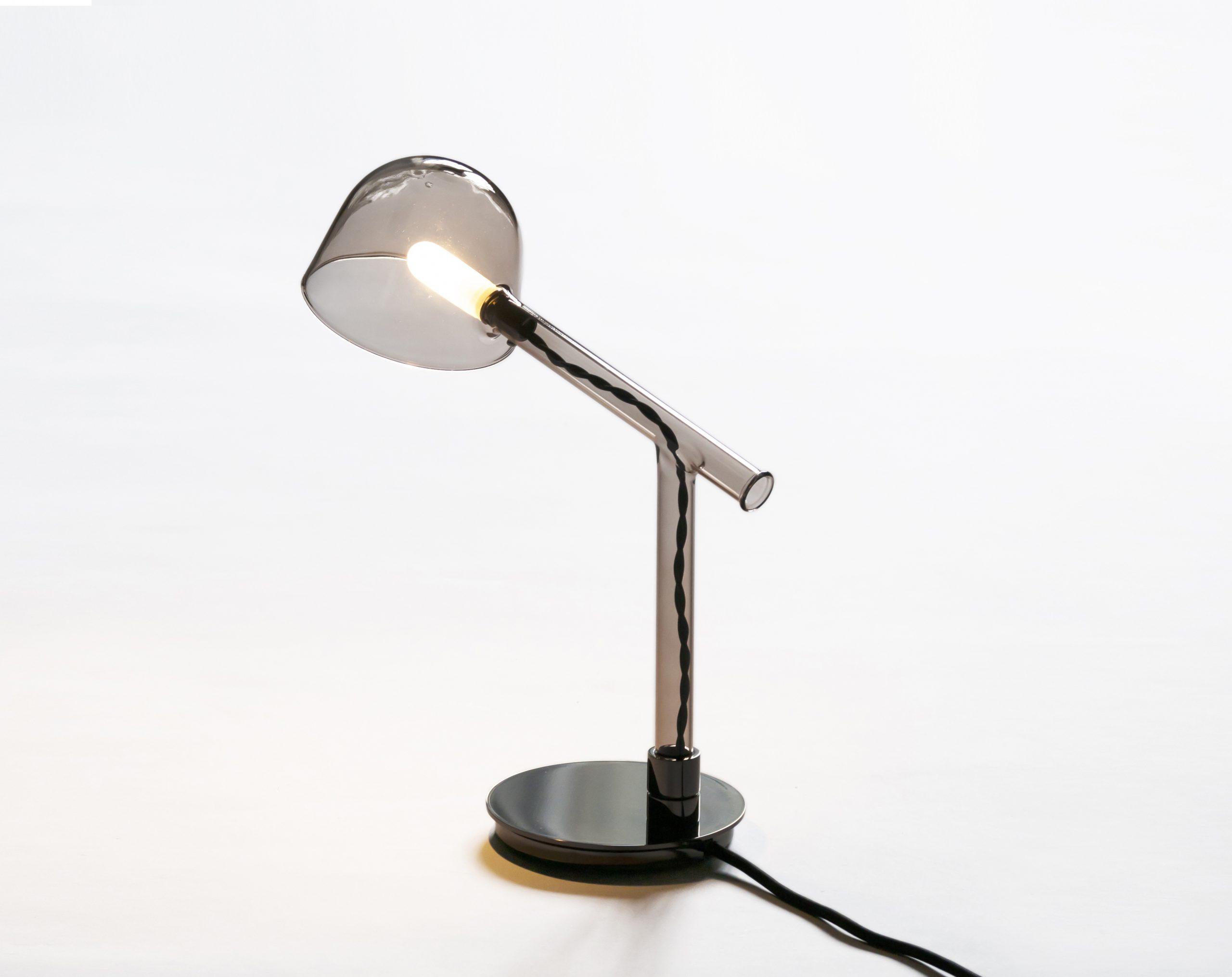 Labo borosilicate glass lamp by Debiasi Sandri for Penta