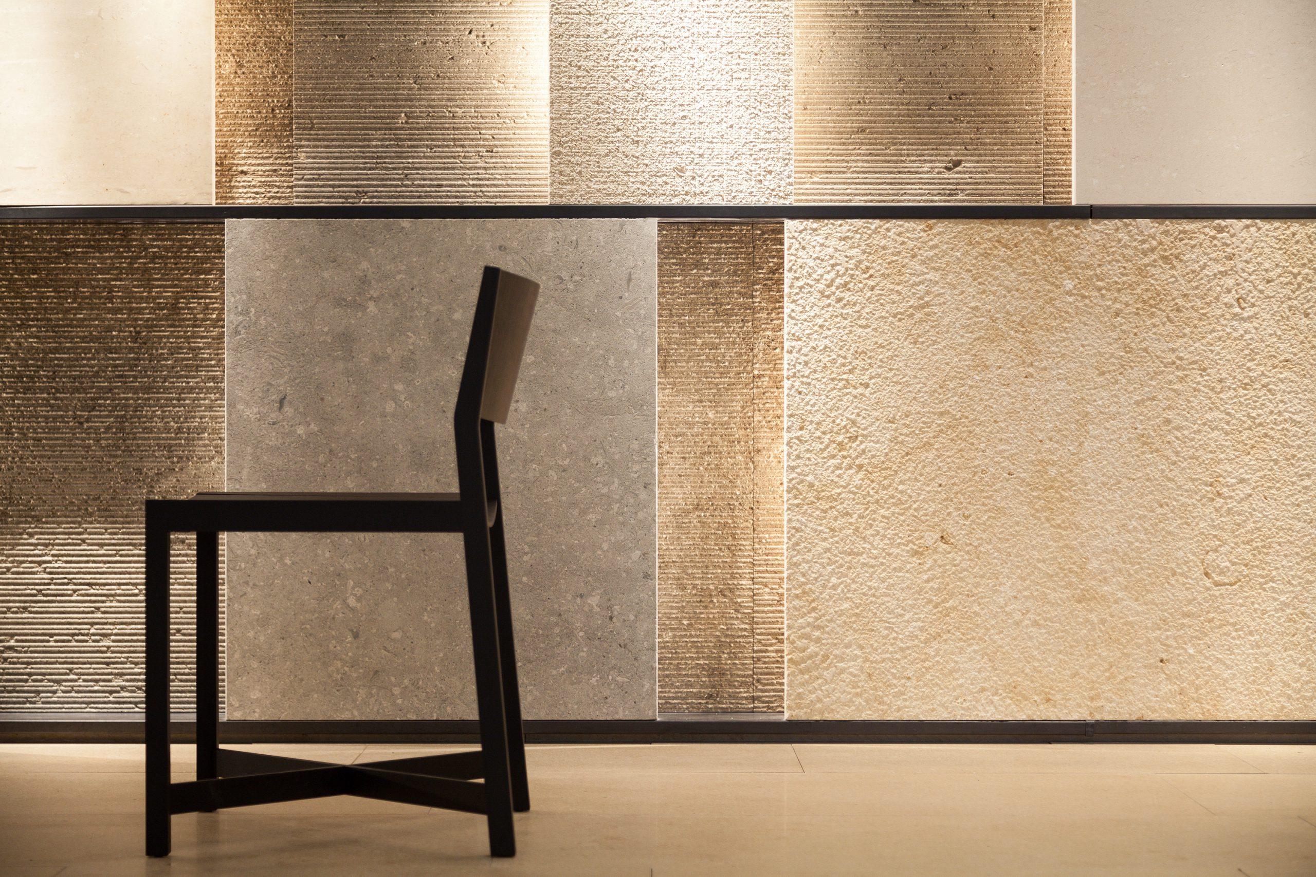 Marmomac 2016 booth designed by Debiasi Sandri for Grassi Pietre