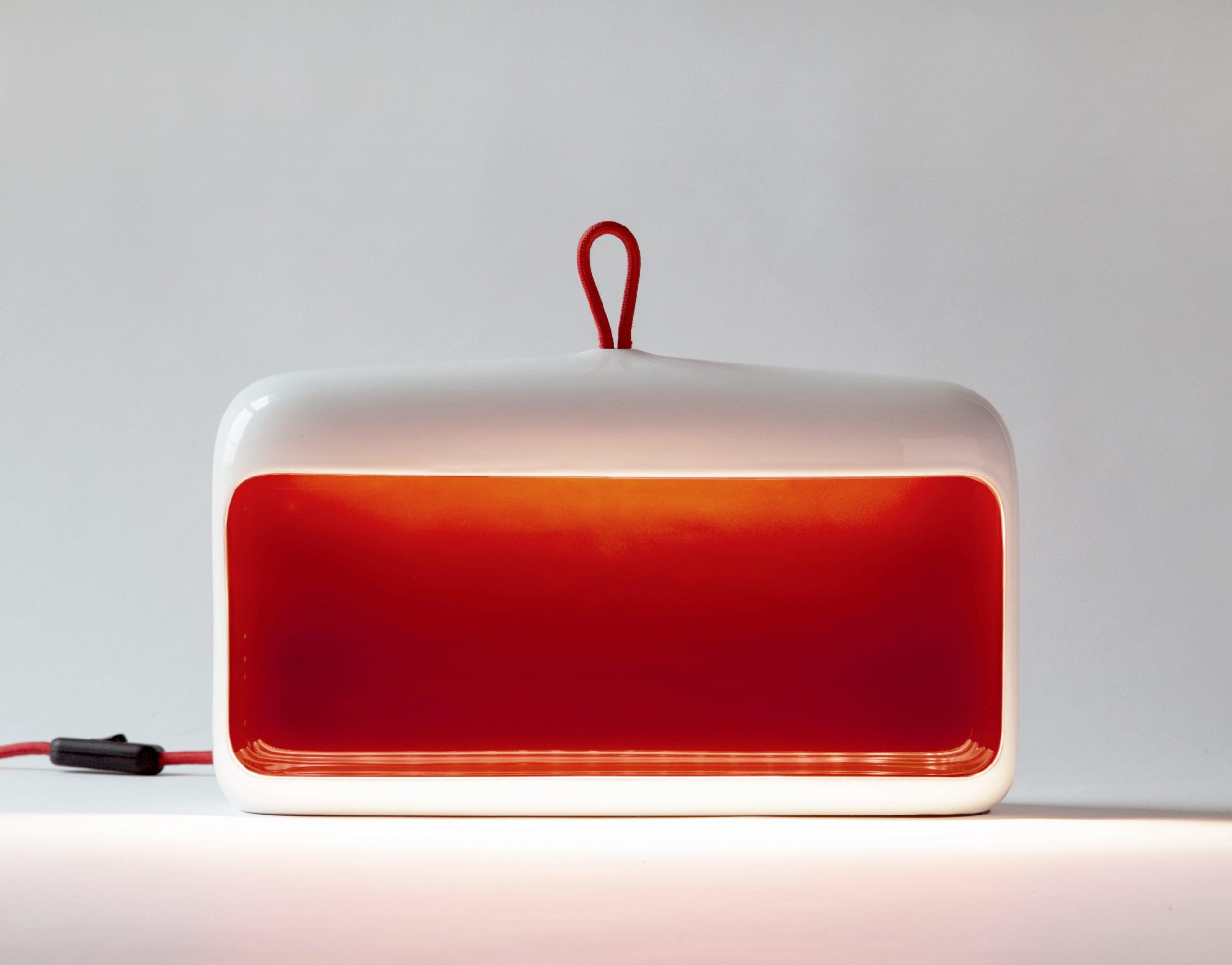 Naica ceramic lamp by Debiasi Sandri for Ligne Roset