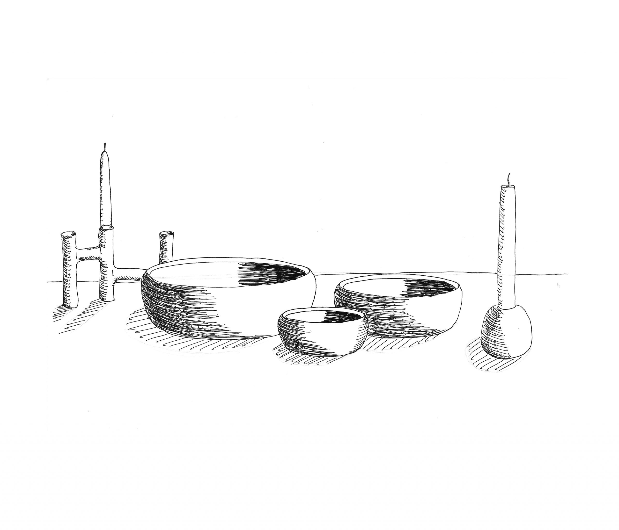 Ora sketch by Debiasi Sandri for Stelton