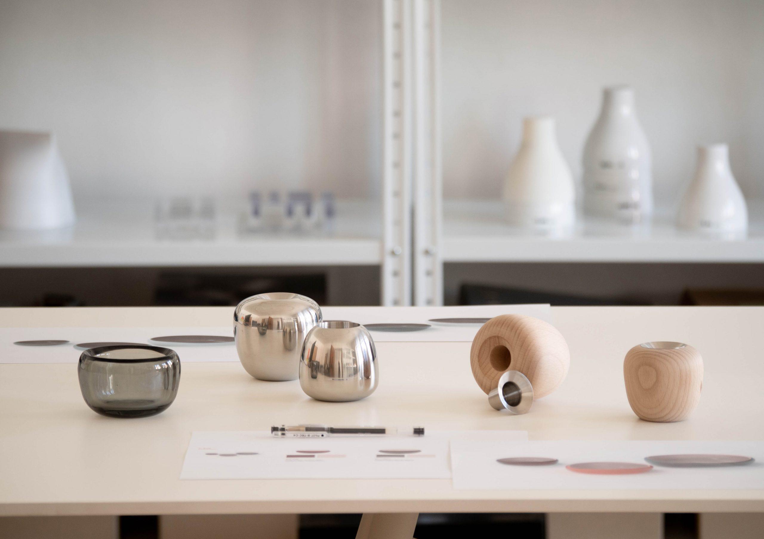 Ora candle holders studio shot by Debiasi Sandri for Stelton
