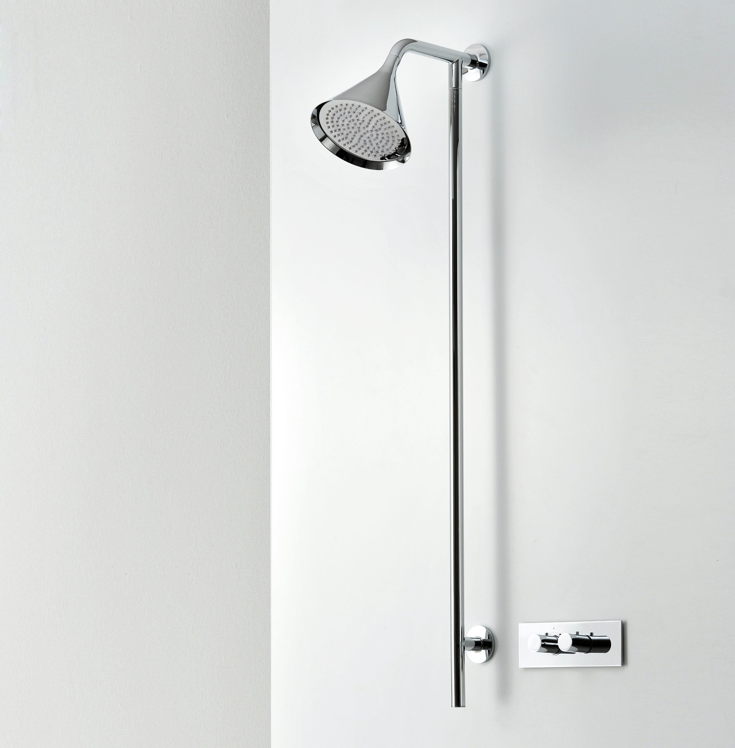 Swing shower head by Debiasi Sandri for Bonomi