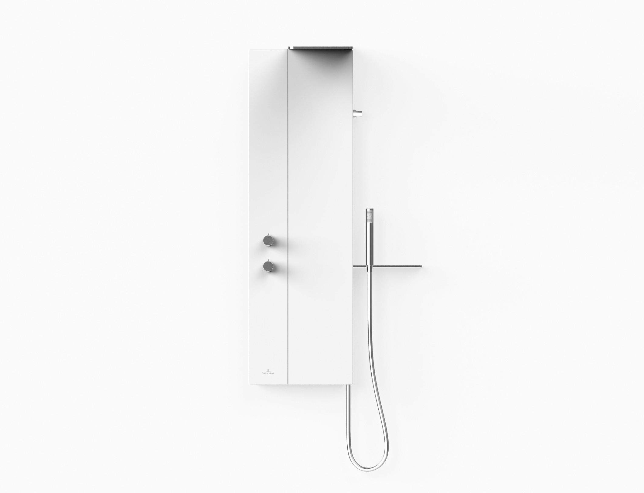 Vivia shower panel by Debiasi Sandri for Villeroy & Boch if award winner