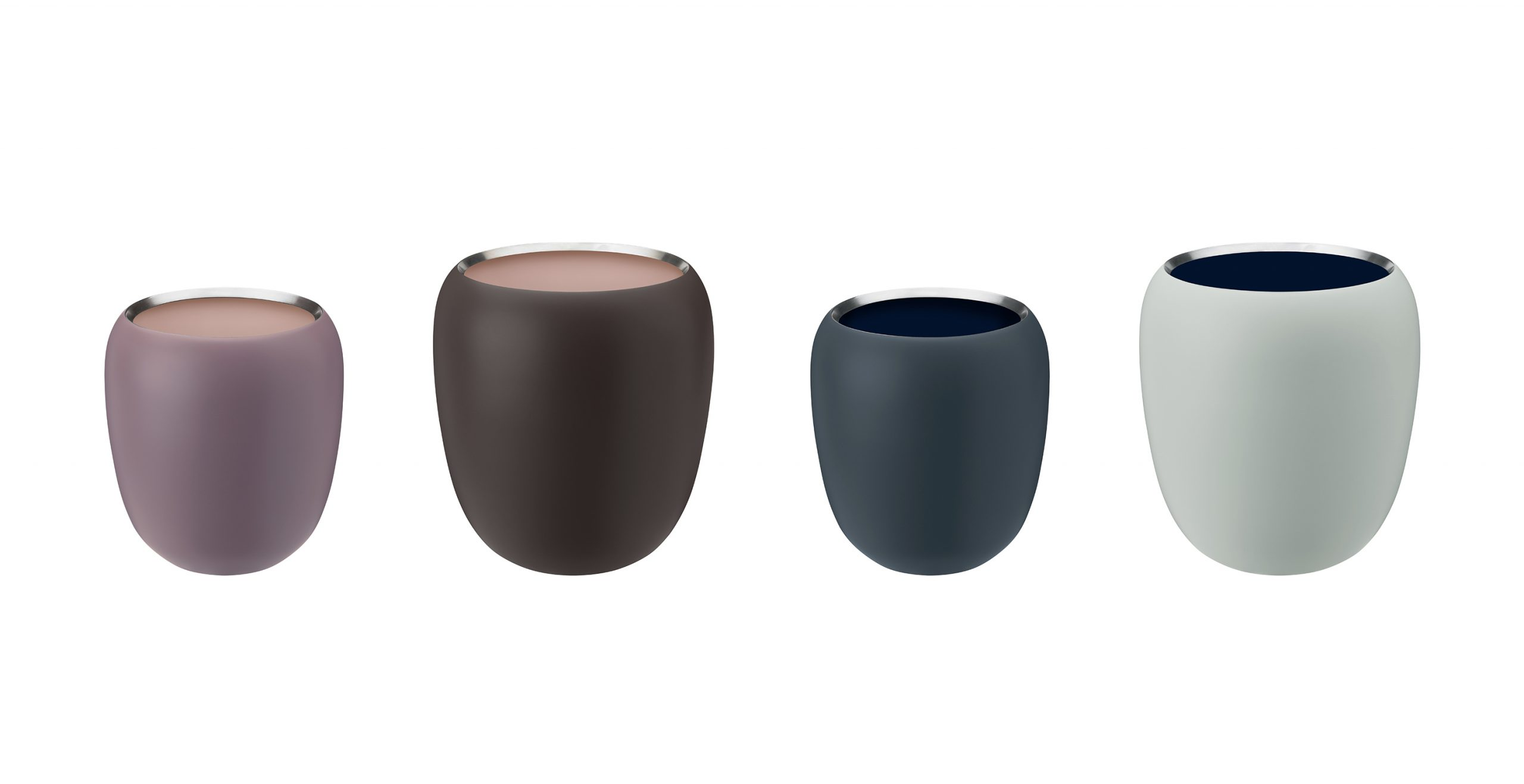 Ora Vases designed by Debiasi Sandri for Stelton