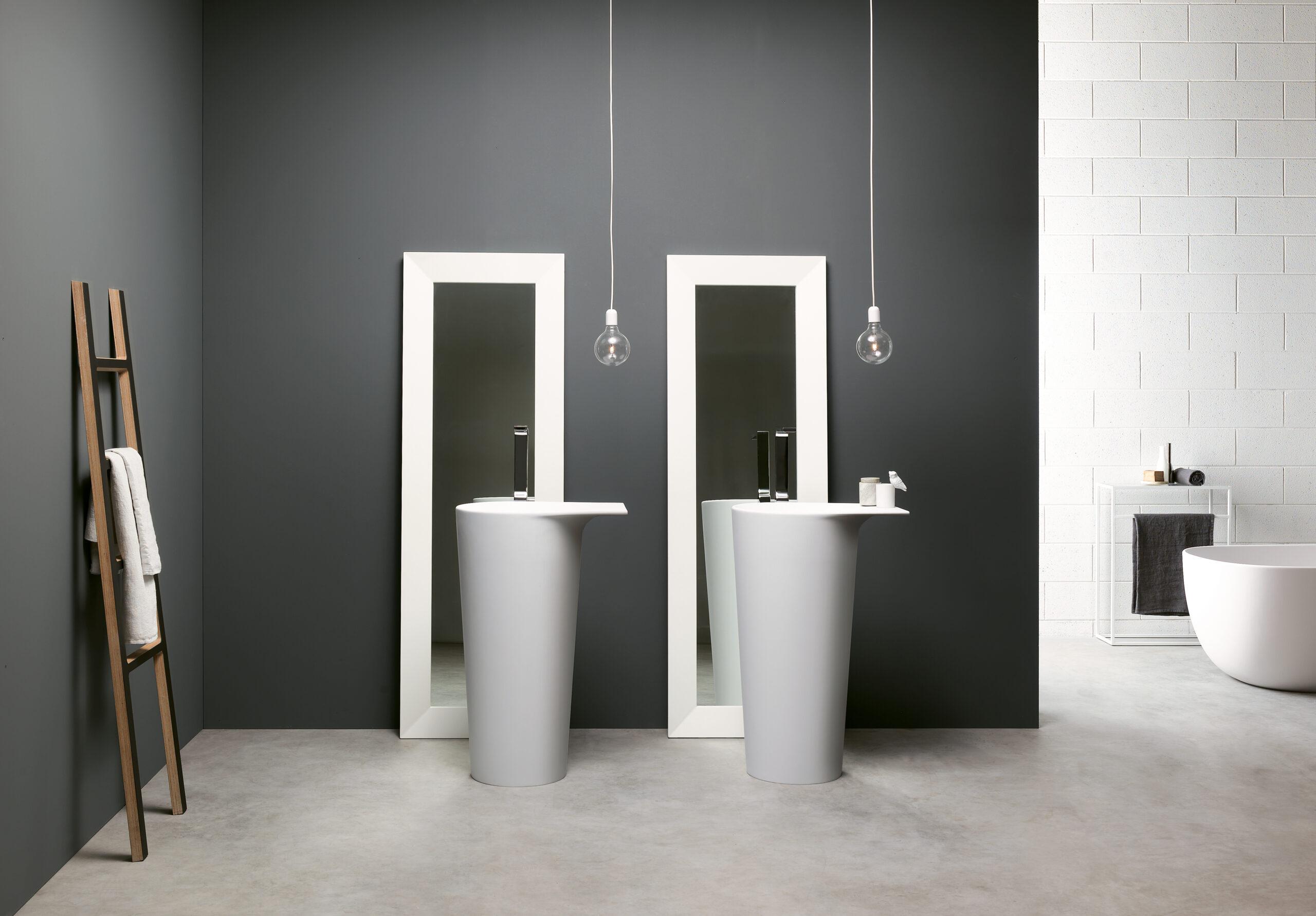 Freestanding Ala washbasin by Debiasi Sandri for Toscoquattro